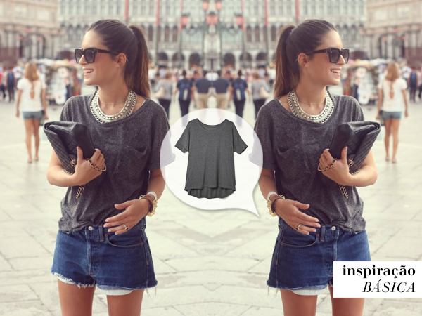 Aprenda com as famosas a vestir shorts jeans com estilo
